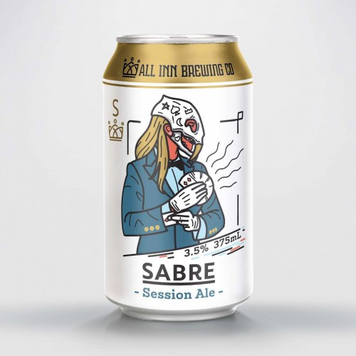 All Inn Brewing Co. Sabre Session Ale (4 pack) 3.5%